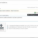 creating Facebook custom audiences