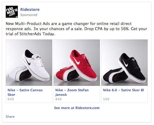 Multi Product Facebook Ads Improve Ad Roi