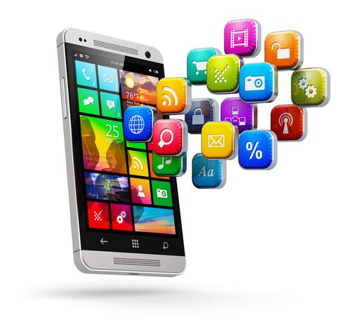 mobile app de
