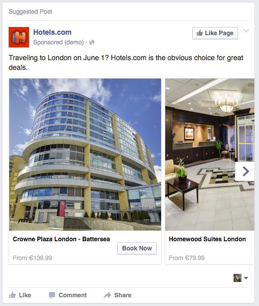 Hotels.com DAT Carousel