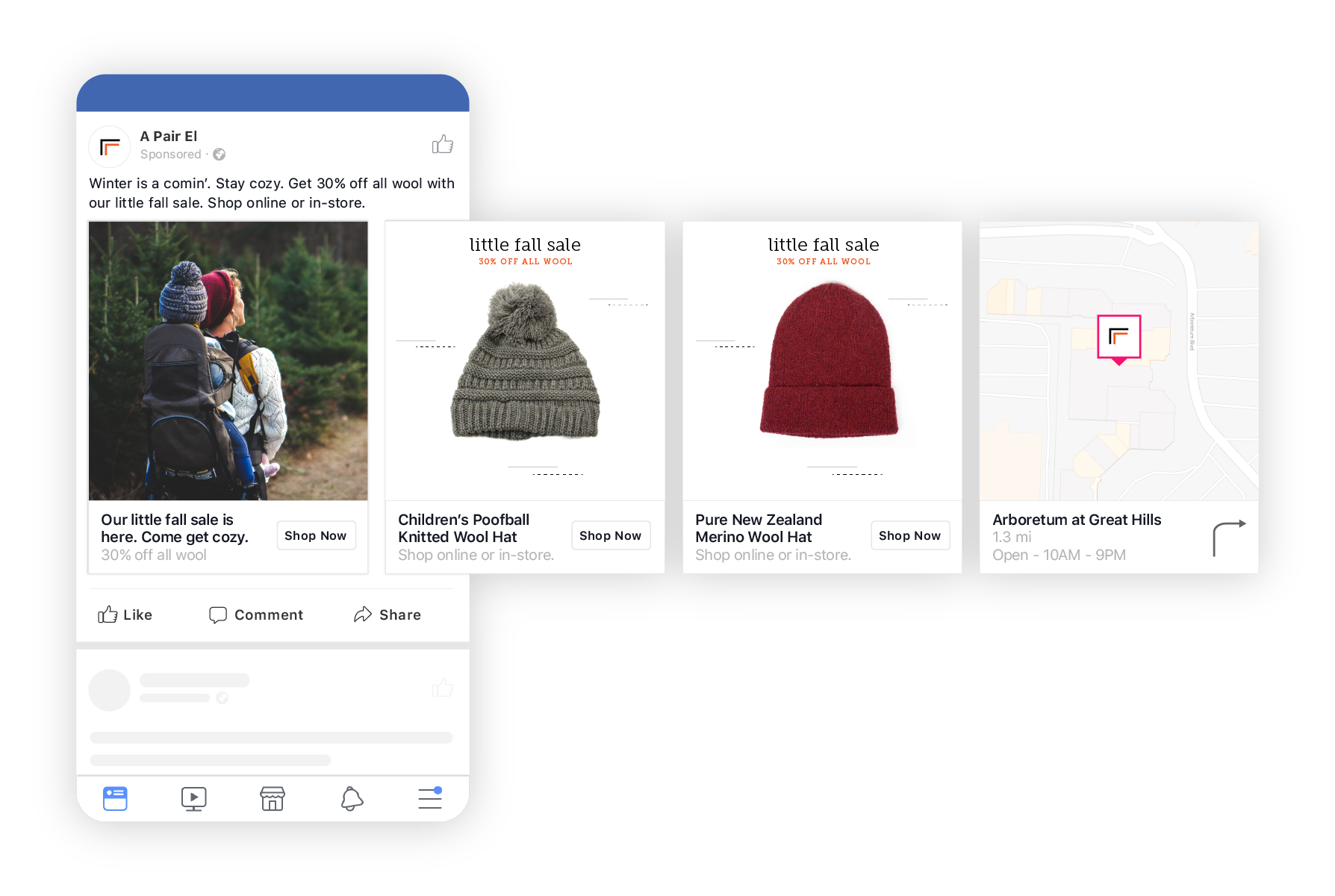 UGC for facebook dynamic ad